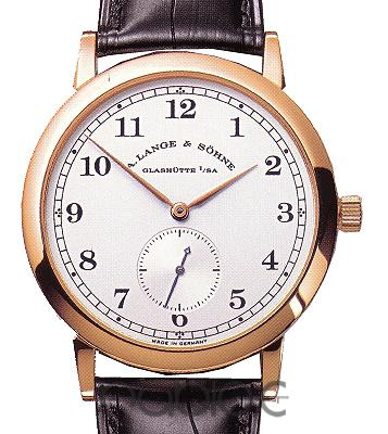 A Lange & Sohne 1815 Red gold Replica Watch 206.032